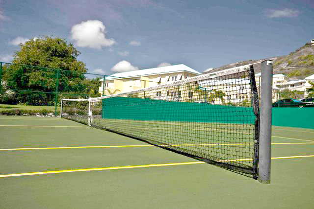 Tennis Court at Calypso Bay Resorts, St. Kitts